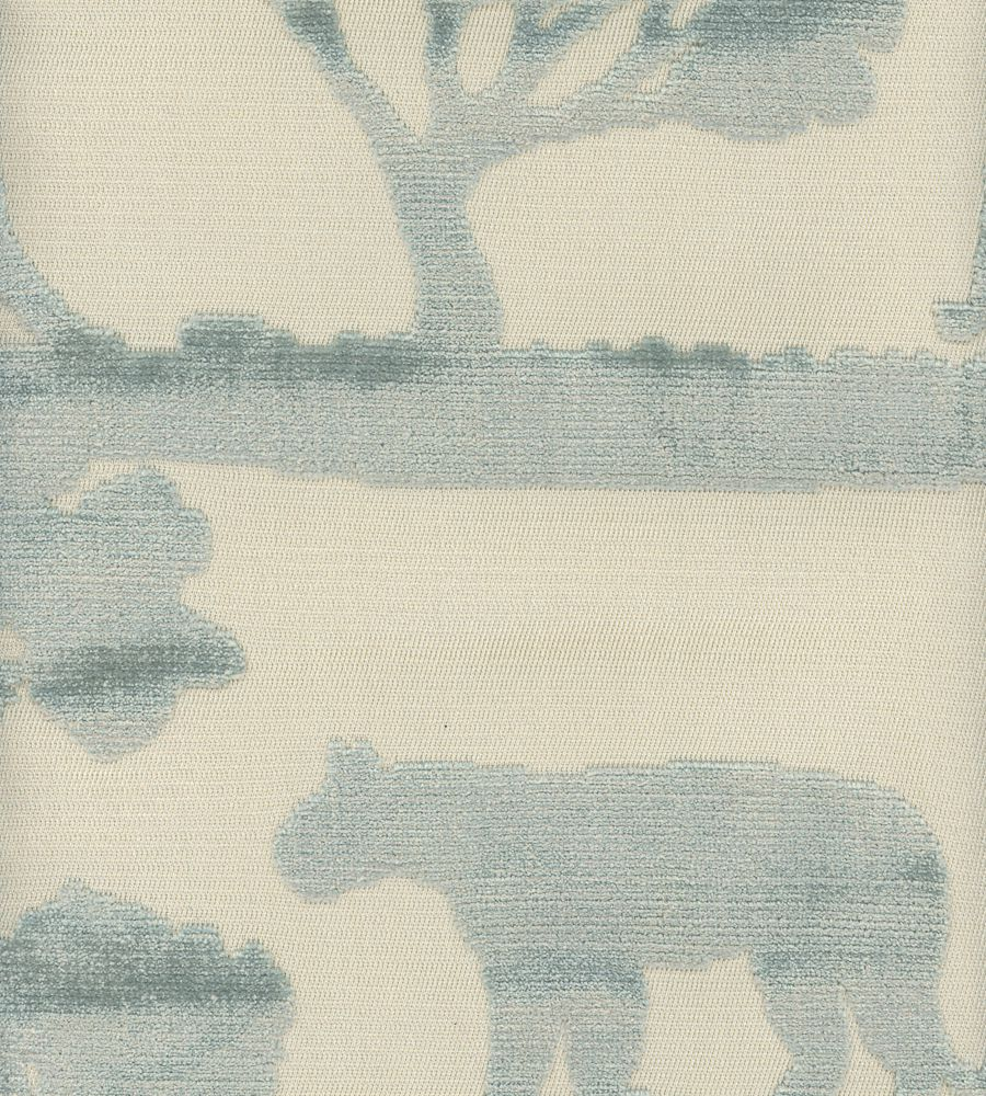 Andrew Martin Safari Lion Duck Egg textil - Paisley Home