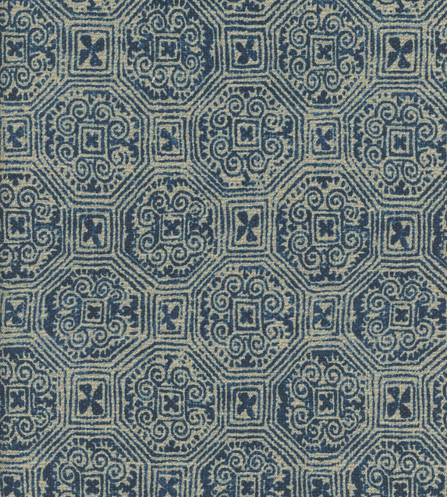 Andrew Martin Lola Marine Blue textil - Paisley Home