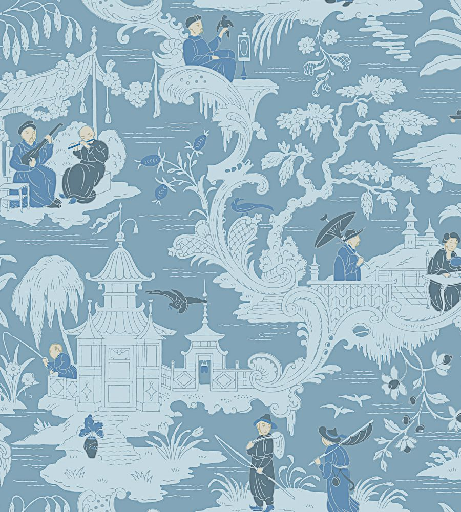 Cole and Son Chinese Toile 100-8038 tapéta - Paisley Home