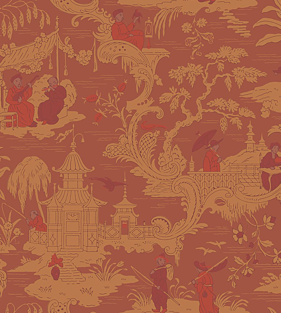 Cole and Son Chinese Toile 100-8041 tapéta - Paisley Home