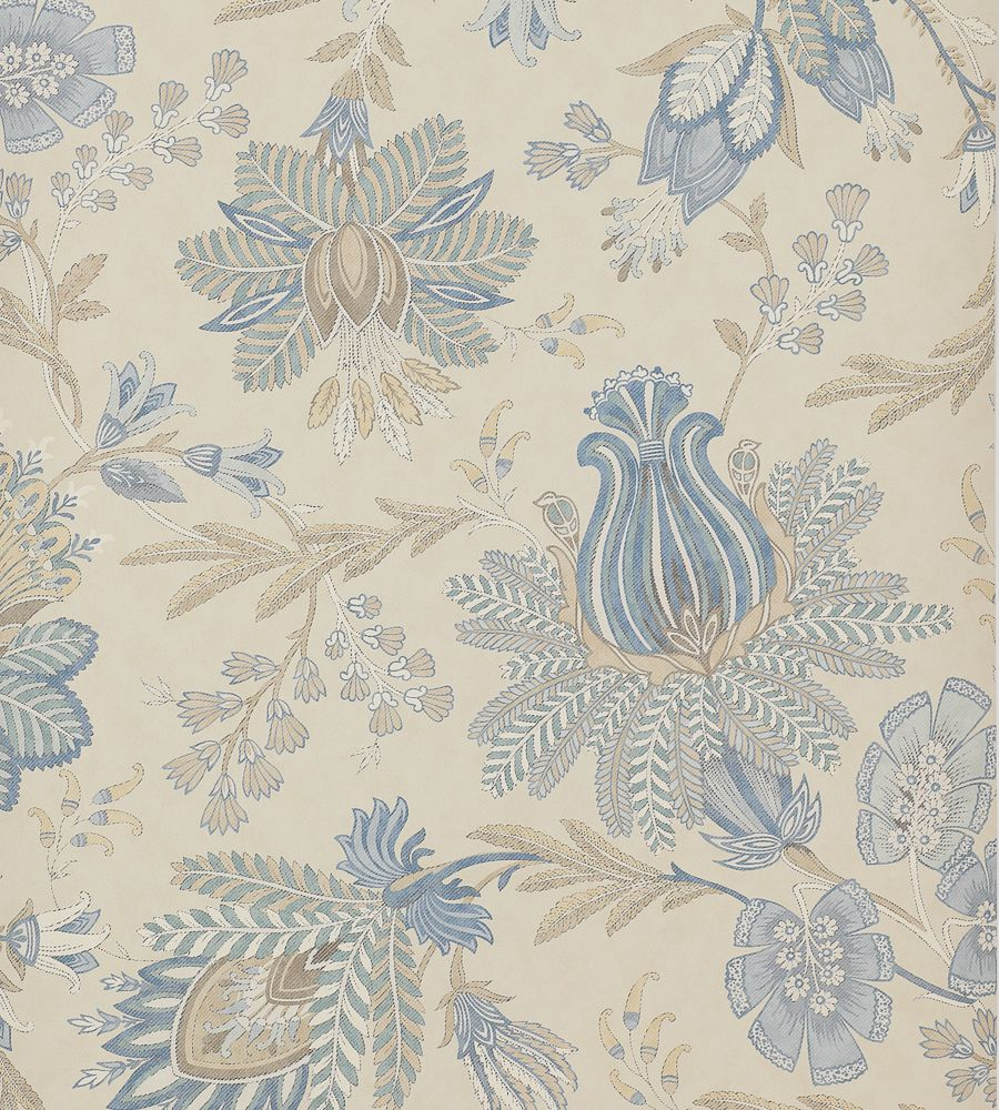 Colefax and Fowler Casimir Old Blue tapéta - Paisley Home