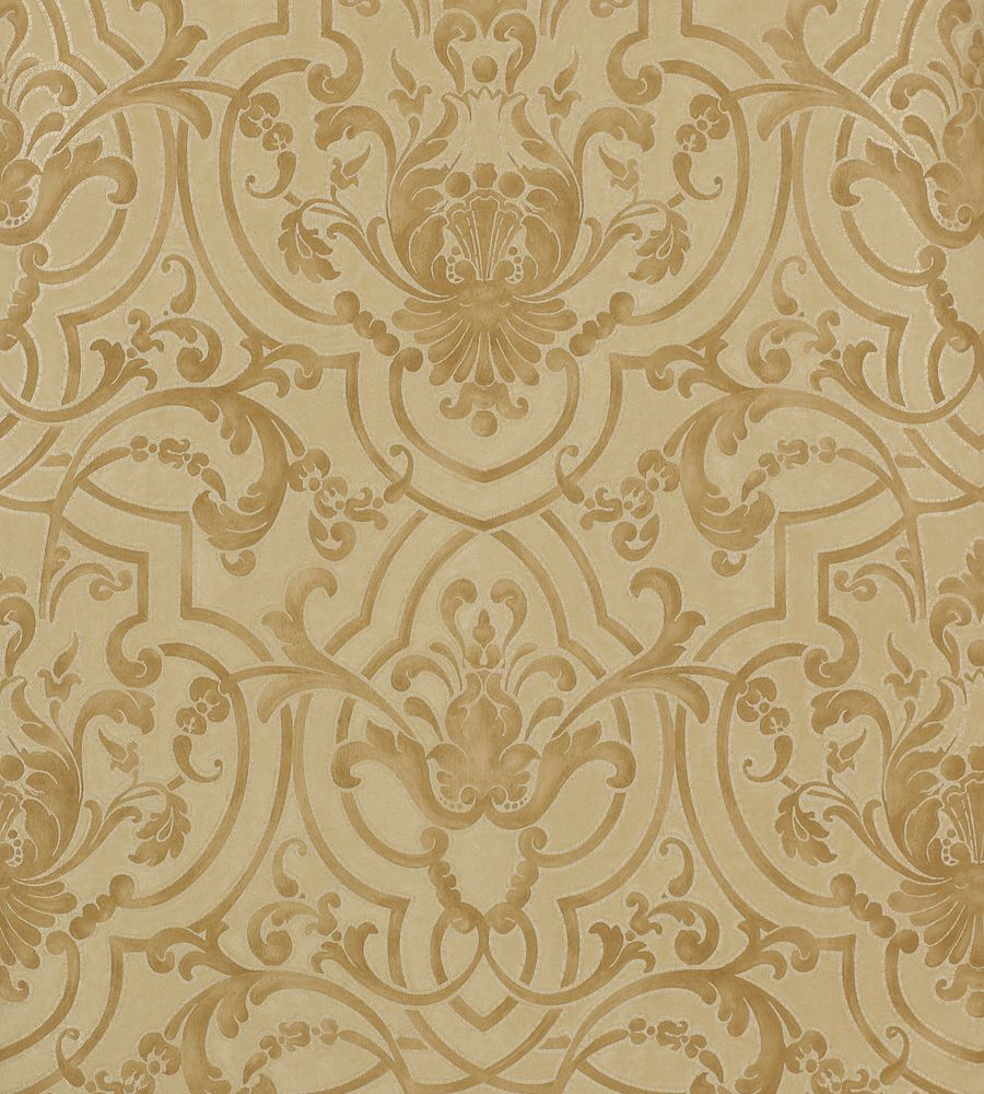 Colefax and Fowler Fretwork Gold tapéta - Paisley Home