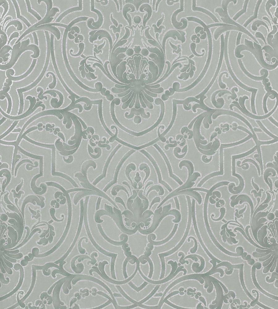 Colefax and Fowler Fretwork Old Blue tapéta - Paisley Home