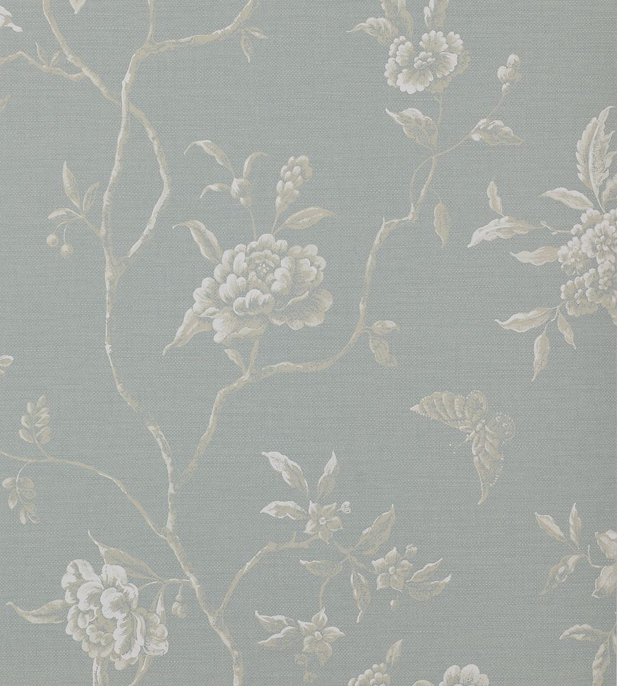 Colefax and Fowler Swedish Tree Old Blue tapéta - Paisley Home