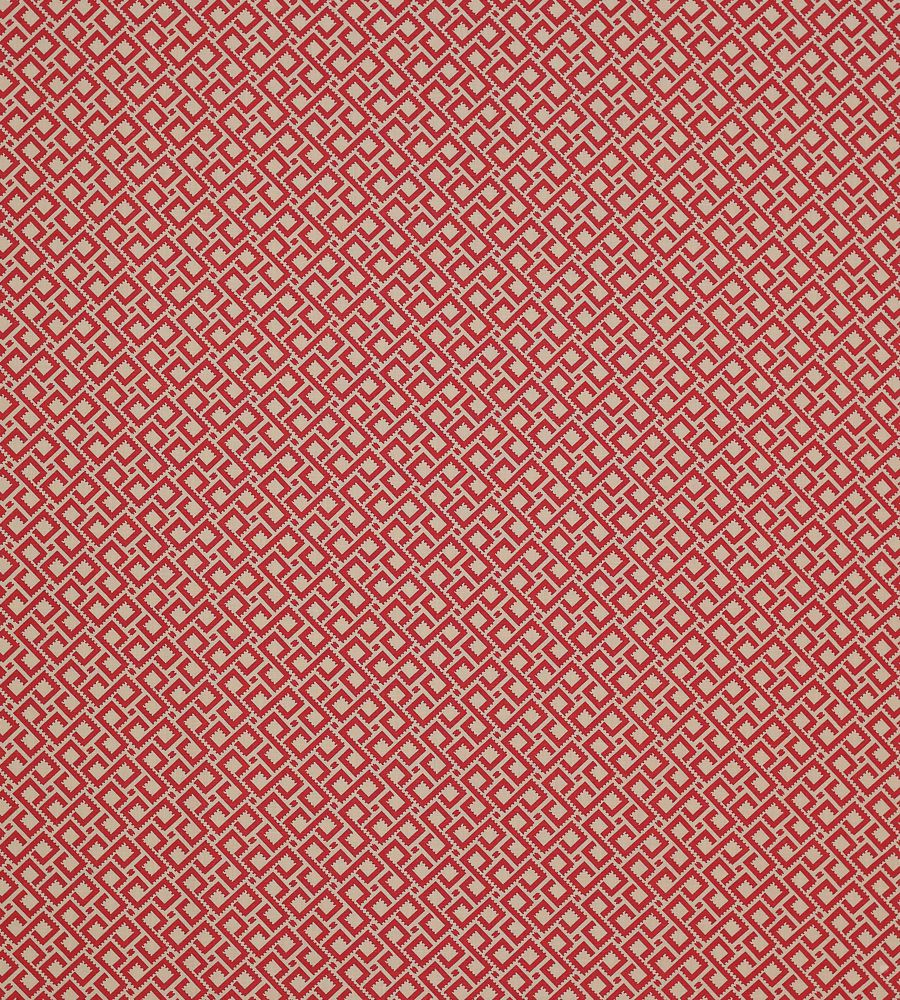 Colefax and Fowler Mazely Red textil - Paisley Home