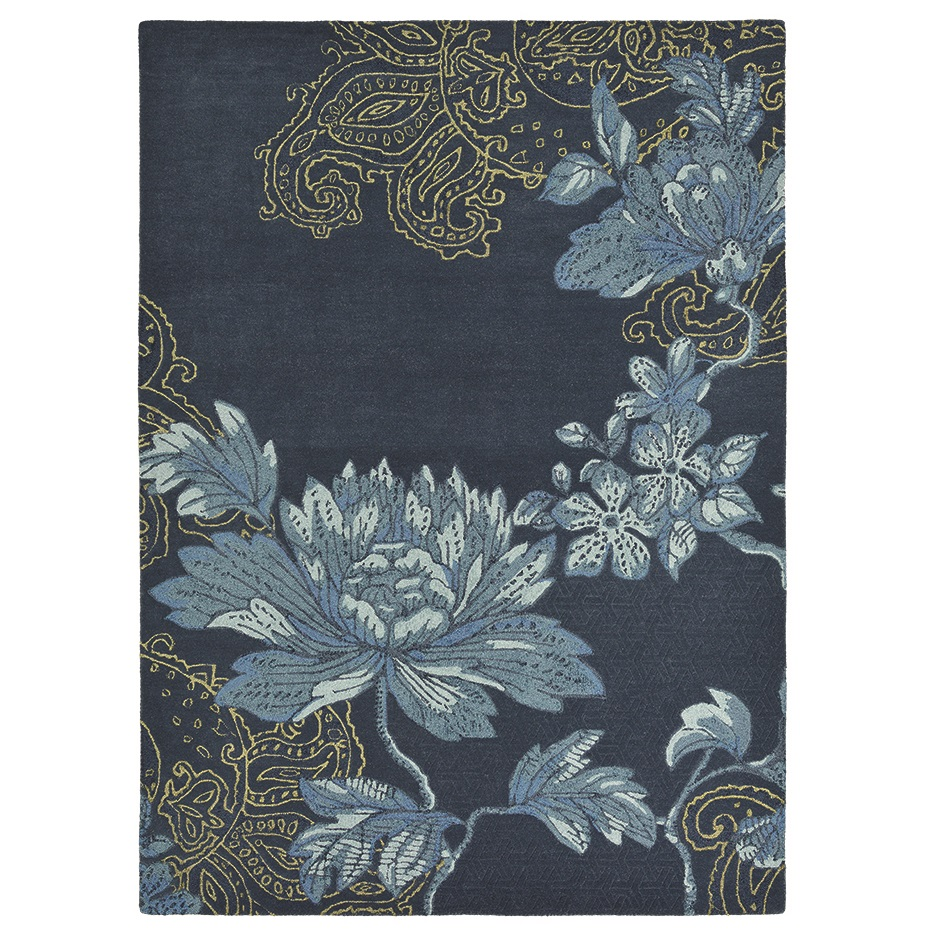 Wedgwood Home Fabled Floral Navy szőnyeg - Paisley Home