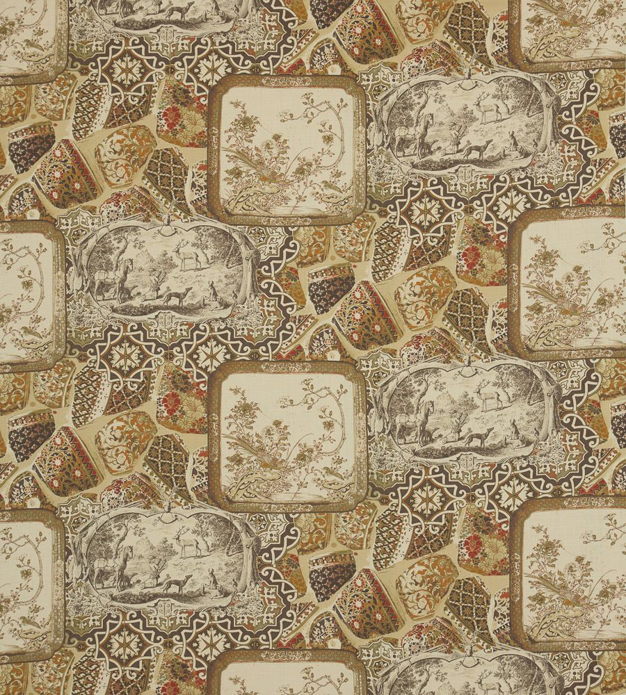 Mulberry Home Mulberry China Linen Spice textil - Paisley Home