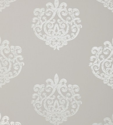 Anna French Arran Pearl on Lt. Taupe tapéta - Paisley Home