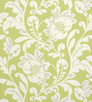 Anna French Livorette Green tapéta - Paisley Home