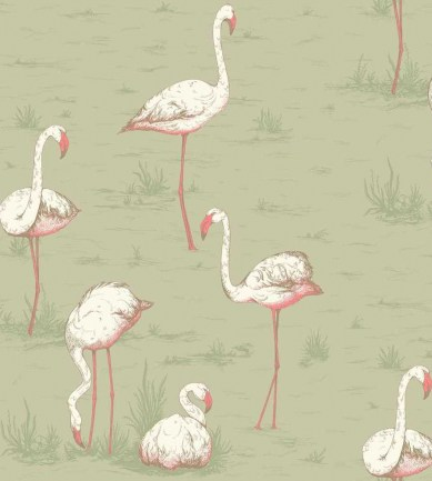 Cole and Son Flamingos F111/3009 textil - Paisley Home