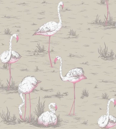 Cole and Son Flamingos F111/3011 textil - Paisley Home