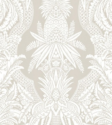 Colony East India Bianco Beige tapéta - Paisley Home