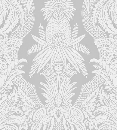 Colony East India Bianco Grigio tapéta - Paisley Home