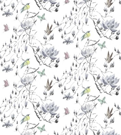 Designers Guild Madame Butterfly II Delft textil - Paisley Home