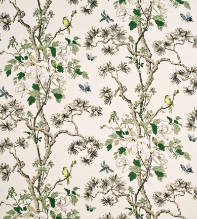 GP and J Baker Tree Peony Cream-Ivory-Sand textil - Paisley Home