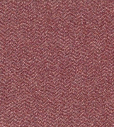 Ian Mankin Haworth Burgundy textil - Paisley Home