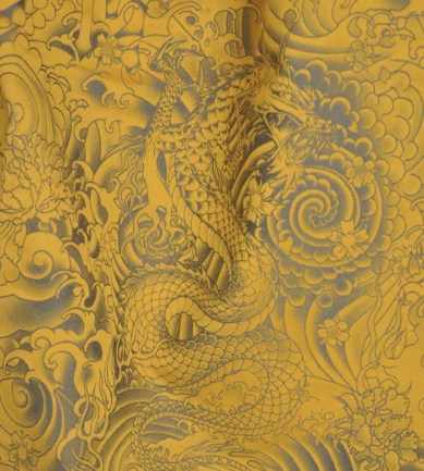 Jean Paul Gaultier Komodo Gold textil - Paisley Home