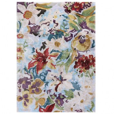 Ligne Pure Blooming Floral Multi szőnyeg - Paisley Home
