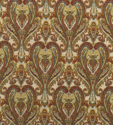 Mulberry Home Bohemian Paisley Multi textil - Paisley Home