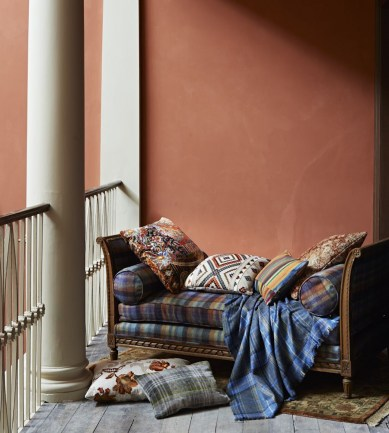 Mulberry Home Shaftesbury Teal-Amber textil - Paisley Home