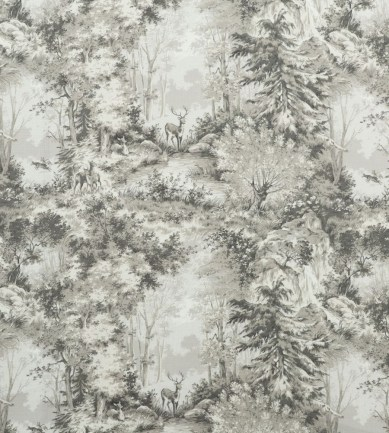 Mulberry Home Torridon Linen Stone-Silver textil - Paisley Home