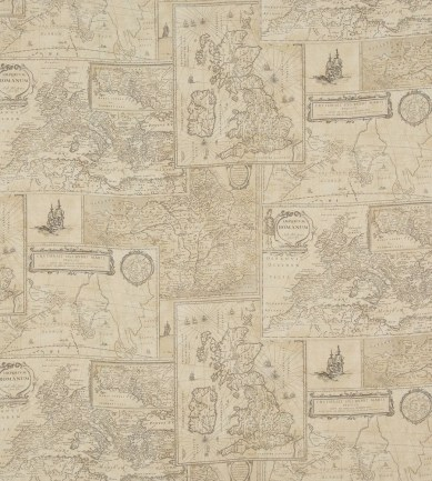 Mulberry Home Bohemian Travels Linen Sand textil - Paisley Home