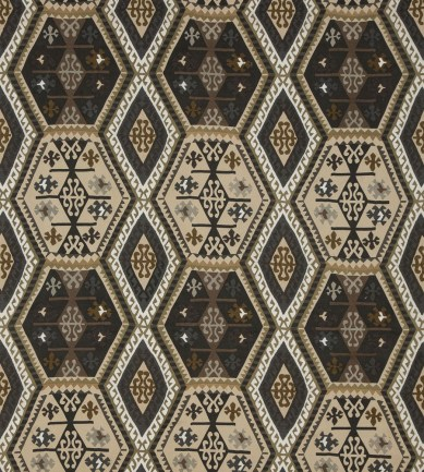 Mulberry Home Buckland Charcoal-Bronze textil - Paisley Home