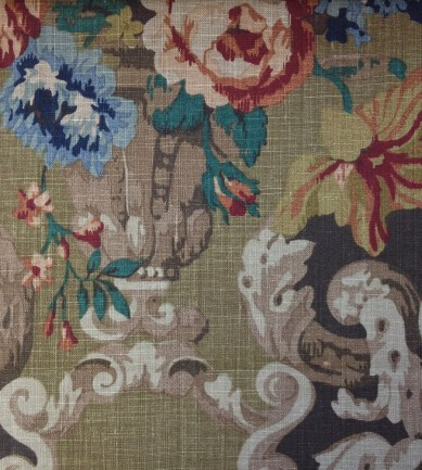 Mulberry Home Floral Rococo Cinnamon textil - Paisley Home