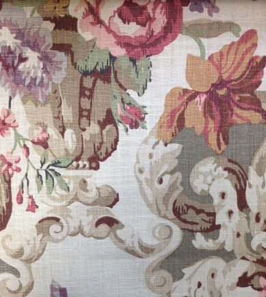 Mulberry Home Floral Rococo Taupe textil - Paisley Home
