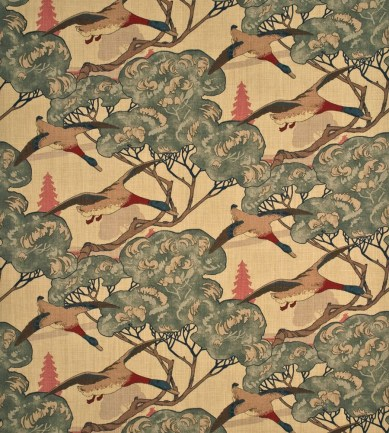 Mulberry Home Flying Ducks Camel-Grey textil - Paisley Home