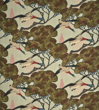 Mulberry Home Flying Ducks Sky textil - Paisley Home