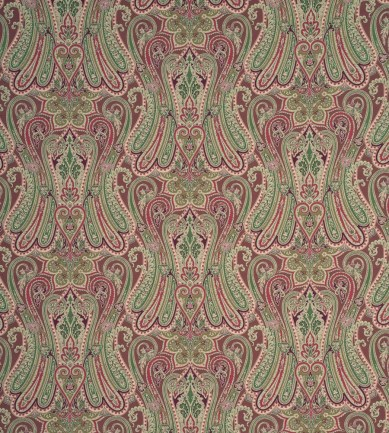 Mulberry Home Heirloom Paisley Damson textil - Paisley Home