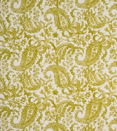 Mulberry Home Indira Paisley Lime textil - Paisley Home