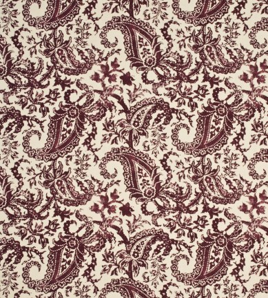 Mulberry Home Indira Paisley Ruby textil - Paisley Home