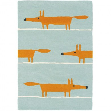 Scion Mr Fox Aqua 25308 szőnyeg - Paisley Home