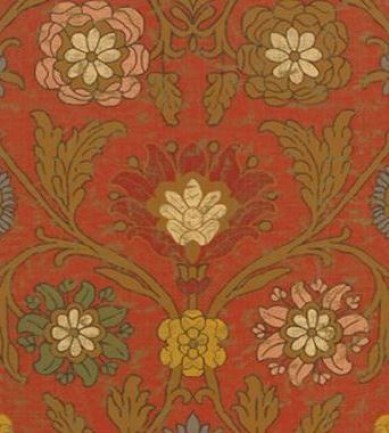 Thibaut Buccini Red 839T6058  tapéta - Paisley Home