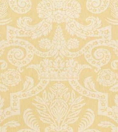 Thibaut Harvard Damask Yellow 839T6024  tapéta - Paisley Home