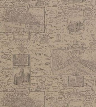 Thibaut London Map Linen 839T6011  tapéta - Paisley Home