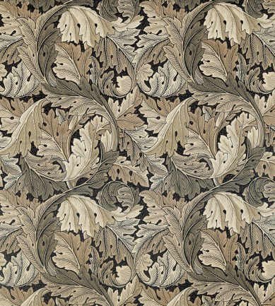 William Morris Acanthus Charcoal-Grey textil - Paisley Home