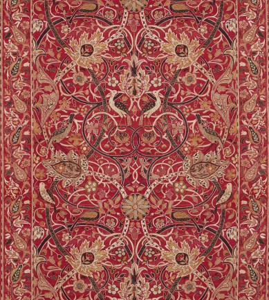 William Morris Bullerswood Paprika-Gold textil - Paisley Home