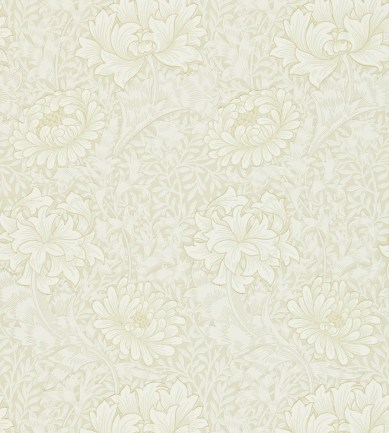 William Morris Chrysanthemum Chalk tapéta - Paisley Home