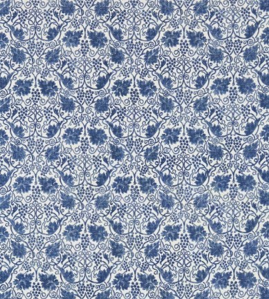 William Morris Grapevine Indigo textil - Paisley Home
