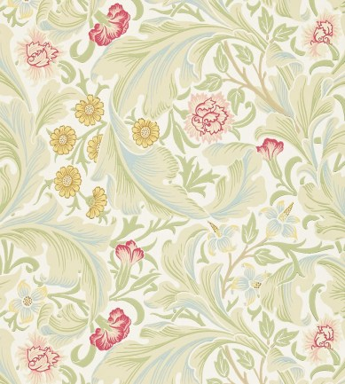 William Morris Leicester Marble/Rose tapéta - Paisley Home