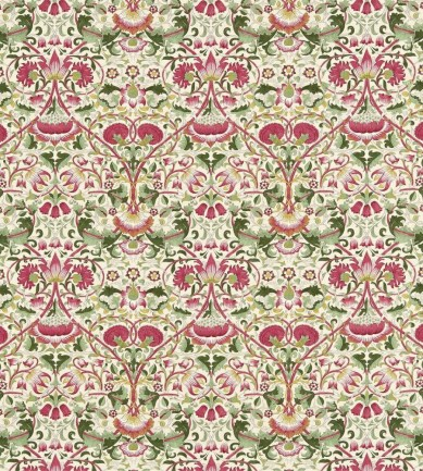 William Morris Lodden Rose/Thyme textil - Paisley Home