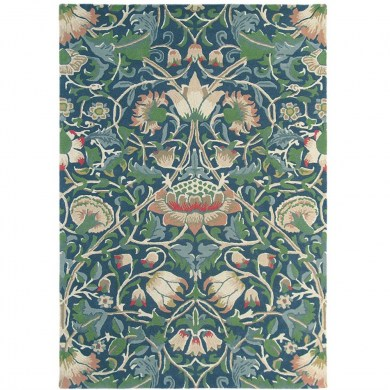 William Morris Lodden Indigo/Mineral 27808 szőnyeg - Paisley Home
