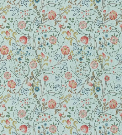 William Morris Mary Isobel Silk Blue/Pink tapéta - Paisley Home