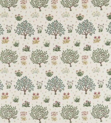 William Morris Orchard Bayleaf/Rose textil - Paisley Home