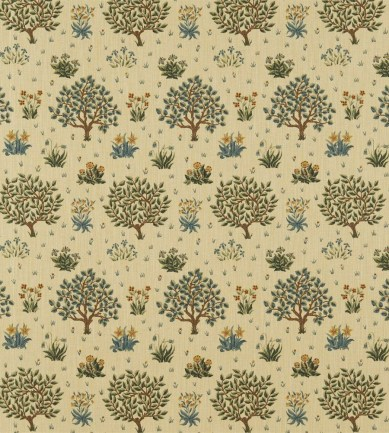 William Morris Orchard Olive/Gold textil - Paisley Home