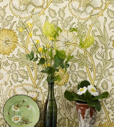 William Morris Pink & Rose Cowslip/Fennel tapéta - Paisley Home