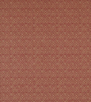 William Morris Bellflowers Weave Russet textil - Paisley Home